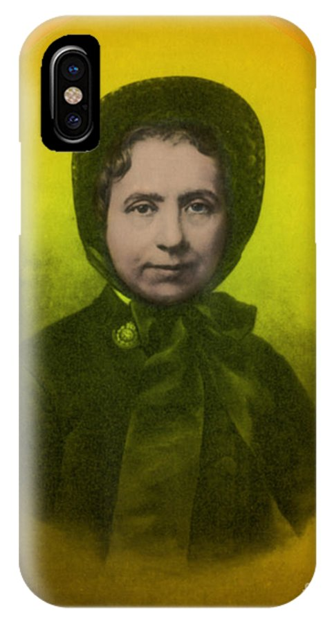 Catherine Booth IPhone X Case featuring the photograph Catherine Booth, Co-founder Salvation by Science Source