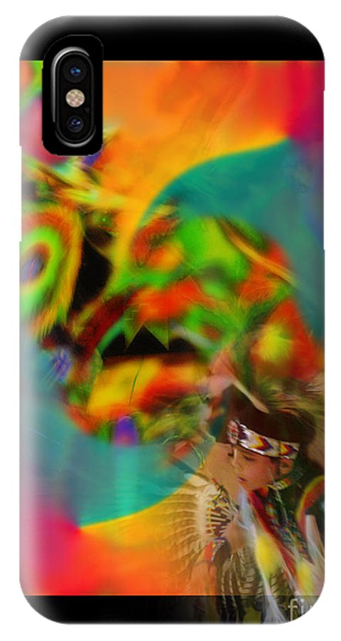 Photography IPhone X Case featuring the photograph Celebration Of Spirit by Vicki Pelham