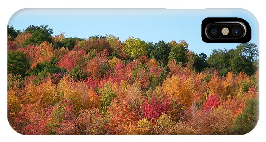 Autumn IPhone X / XS Case featuring the photograph Changing Seasons by Aimee L Maher ALM GALLERY