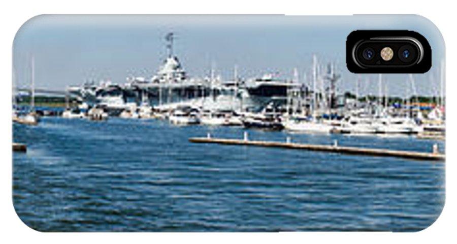 Charleston Harbor IPhone X Case featuring the photograph Charleston Harbor by Matthew Trudeau