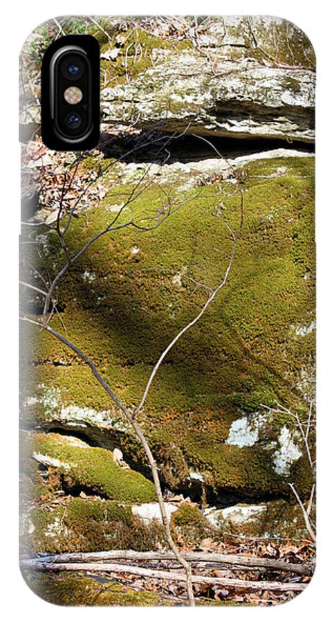 Boulder IPhone X Case featuring the photograph Cherokee Face by Kristin Elmquist
