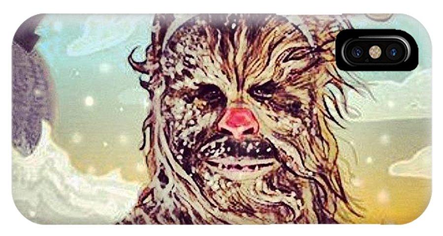brand new 661c3 ac6a5 #chewie #chewbacca #starwars #rudolph IPhone X Case