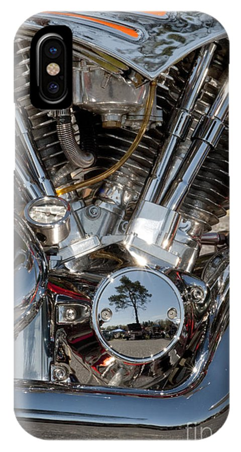 Motorcycle IPhone X Case featuring the photograph Chopper Detail - 108 by Paul W Faust - Impressions of Light