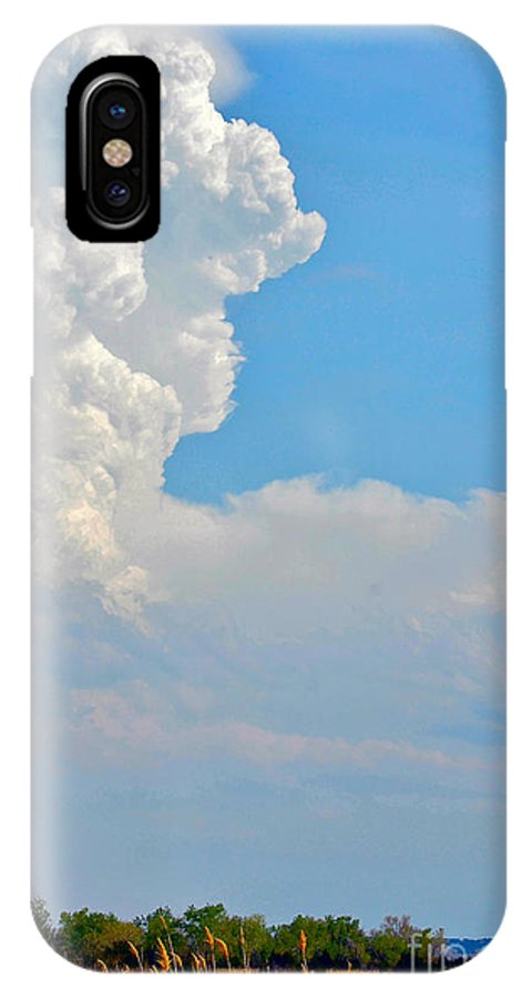 Oklahoma IPhone X Case featuring the photograph Cimarron River by Anjanette Douglas