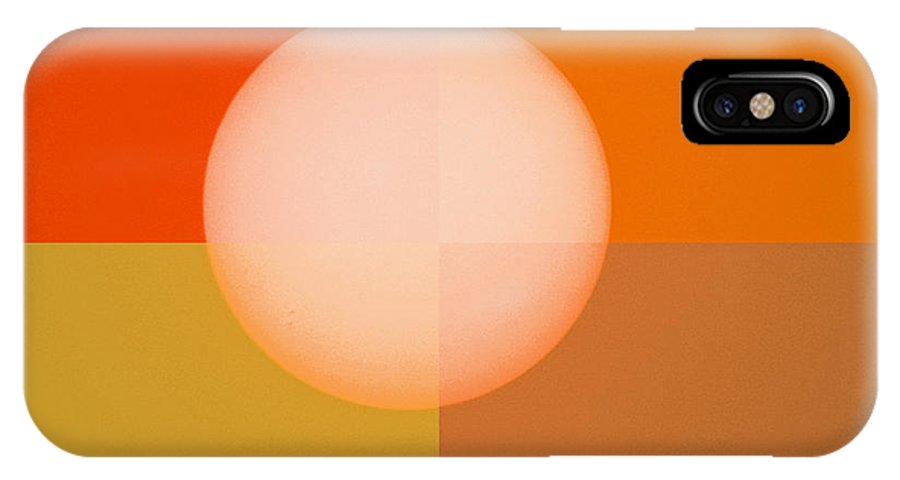 Contemporary IPhone X Case featuring the photograph Circle Of Life by Brenda Donko