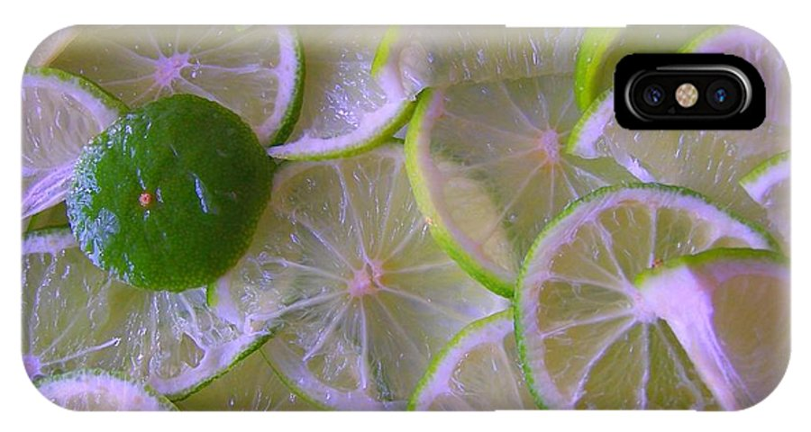 Citrons Verts - Green Lemon - Ile De La Reunion - Ile De La Reunion - Reunion Island - Ocean Indien - Indian Ocean IPhone X Case featuring the photograph Citrons Verts - Green Lemon - Ile De La Reunion by Francoise Leandre