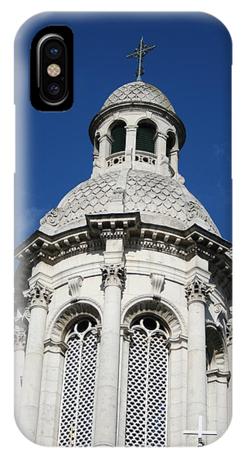 Trinity College IPhone X Case featuring the photograph City 0027 by Carol Ann Thomas