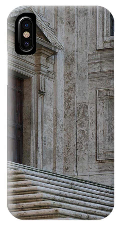 Rome IPhone X Case featuring the photograph City 0049 by Carol Ann Thomas