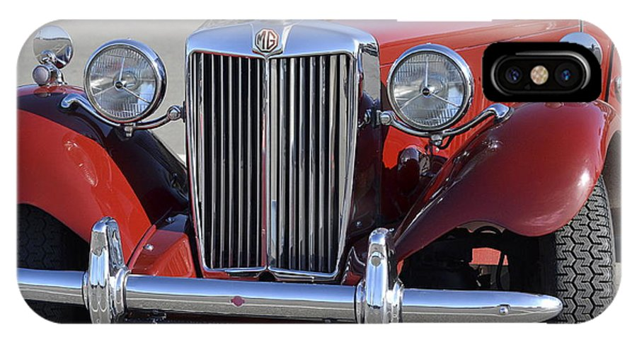 Classic 1952 Mg Td IPhone X Case featuring the photograph Classic Lady by Fraida Gutovich