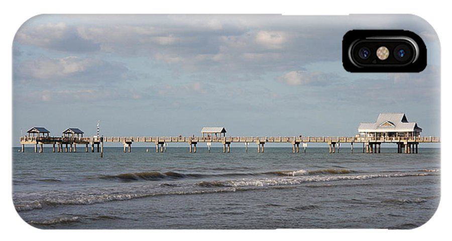 Clearwater IPhone X Case featuring the photograph Clearwater Pier 69 by Christiane Schulze Art And Photography
