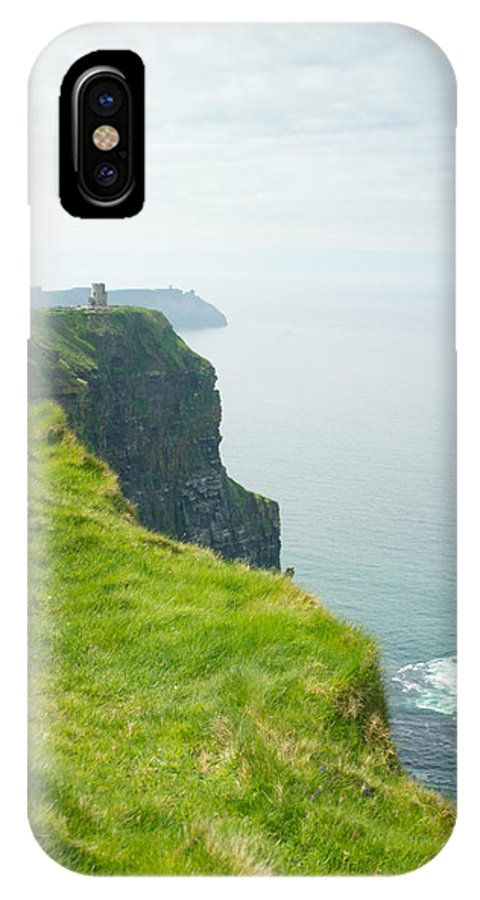 Cliffs IPhone X Case featuring the photograph Cliff Of Moher 24 by Douglas Barnett