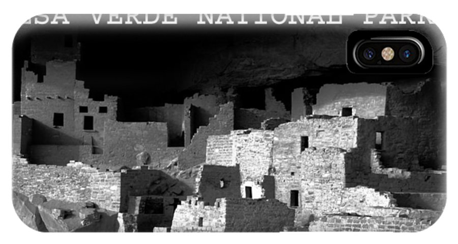 Fine Art Photography IPhone X Case featuring the photograph Cliff Palace by David Lee Thompson