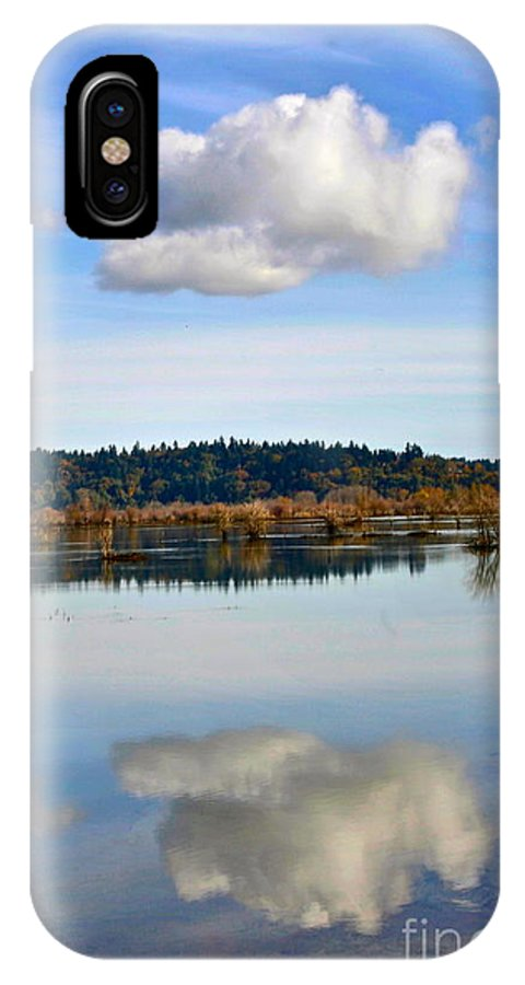 Photography IPhone X / XS Case featuring the photograph Cloud by Sean Griffin