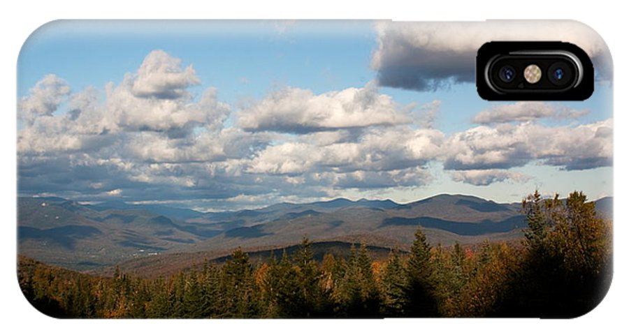 New Hampshire IPhone X / XS Case featuring the photograph Clouds Over New Hampshire by Amanda Kiplinger
