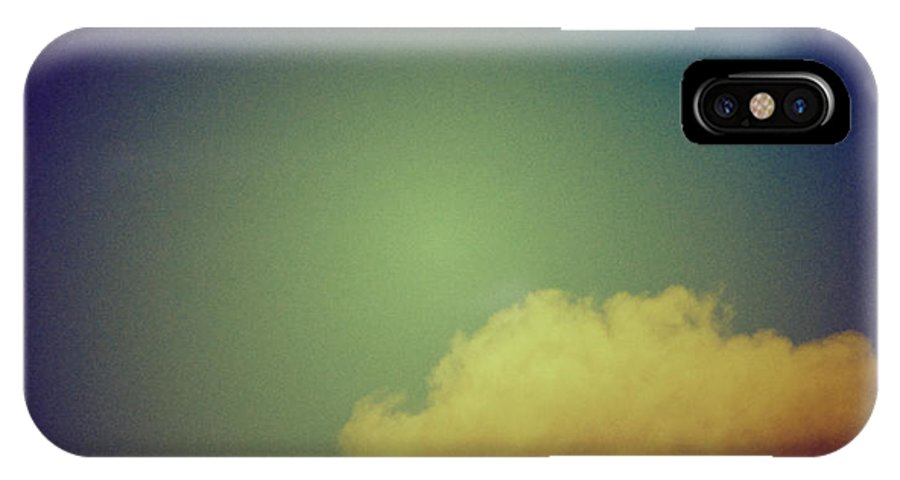 Clouds IPhone X Case featuring the photograph Clouds by Silvia Ganora