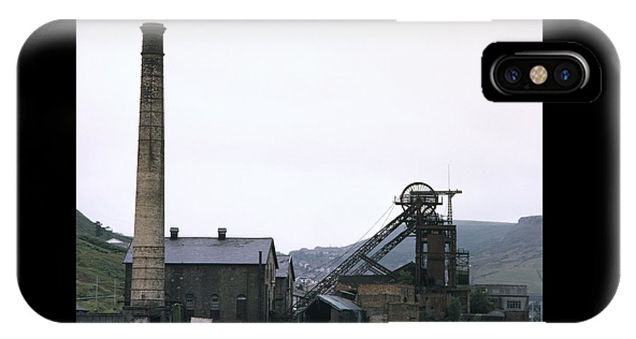 Nostalgia IPhone X Case featuring the photograph Coal Mine by Shaun Higson