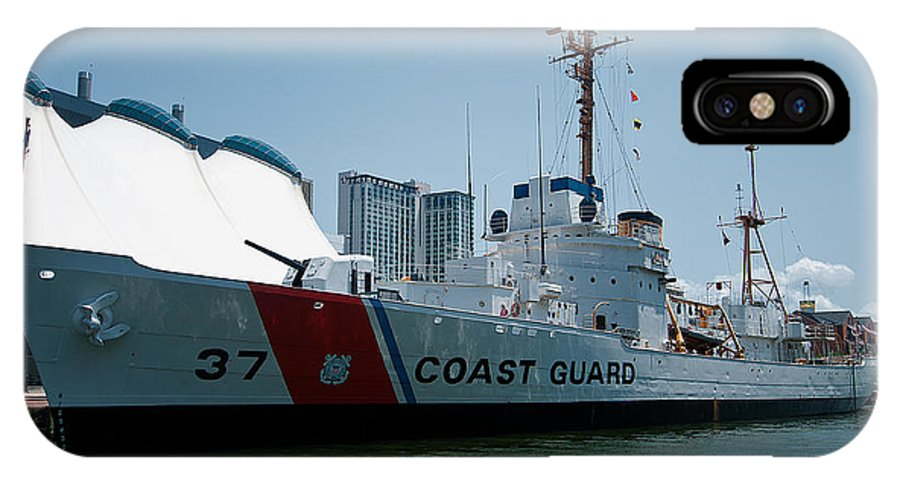 coast Guard IPhone X Case featuring the photograph Coast Guard History by Paul Mangold
