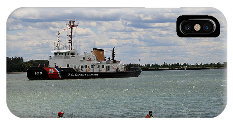 Coast Guard IPhone X Case featuring the photograph Coast Guard In Canada by Andrew Fare