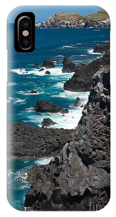 Azores IPhone X Case featuring the photograph Coastline by Gaspar Avila