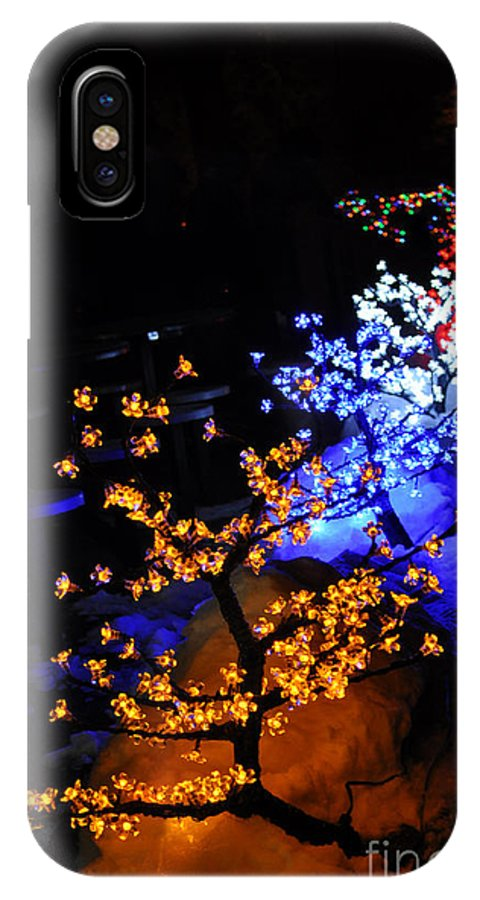 Light IPhone X Case featuring the photograph Color Berries by Anjanette Douglas