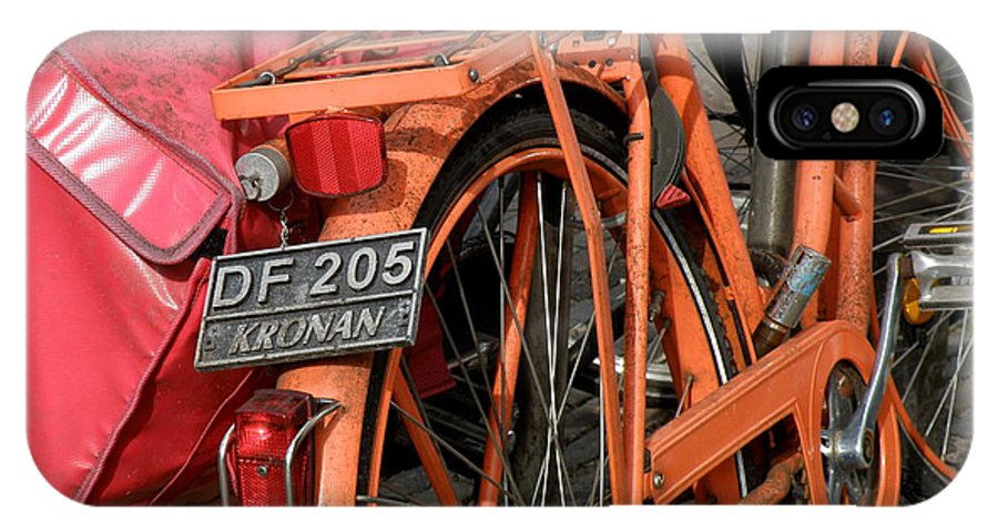Bikes IPhone X Case featuring the photograph Colorful Dutch Bikes by Lainie Wrightson