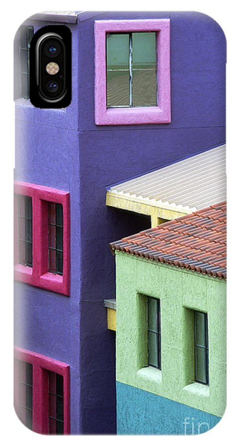 Bronstein IPhone X Case featuring the photograph Colors Of Tucson by Sandra Bronstein