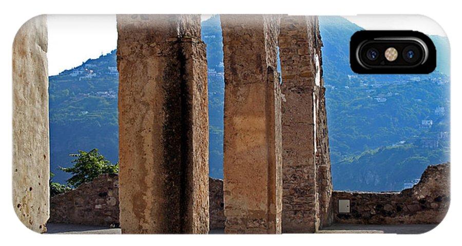 Columns IPhone X Case featuring the photograph Columns by La Dolce Vita