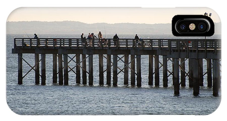 Brooklyn IPhone X Case featuring the photograph Coney Island Pier by Rob Hans