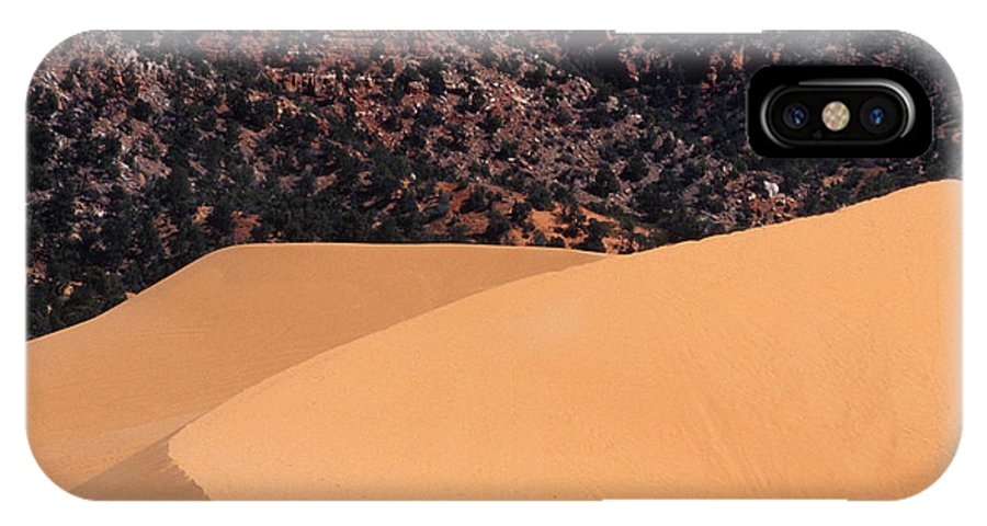 Bronstein IPhone X Case featuring the photograph Coral Pink Sand Dunes by Sandra Bronstein