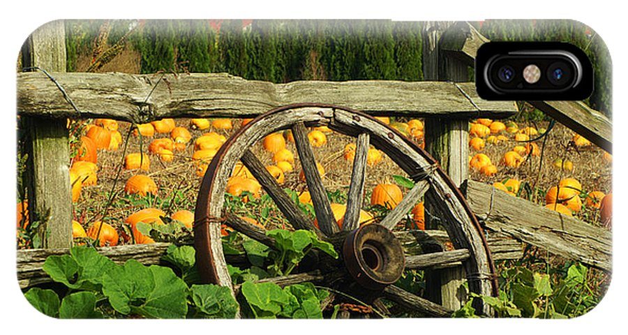 Fences IPhone X / XS Case featuring the photograph Country Fence by Randy Harris