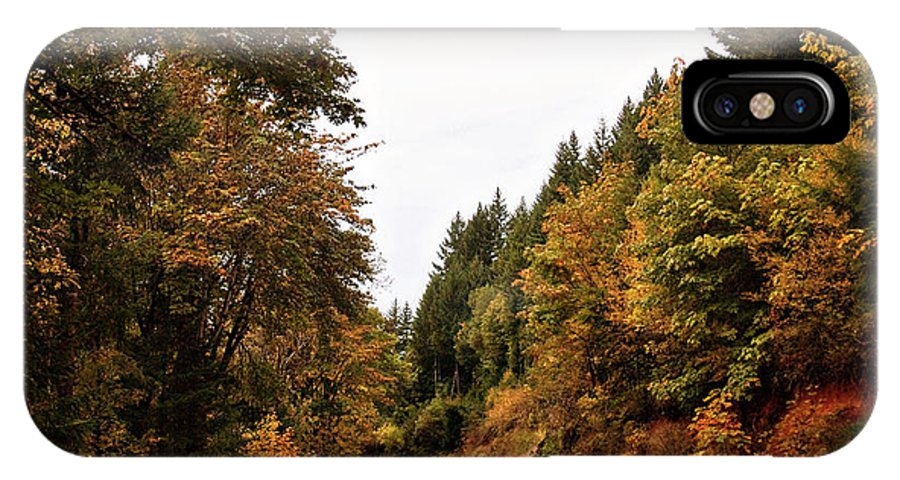 Oregon IPhone X Case featuring the photograph Country Road by Becky Thompson
