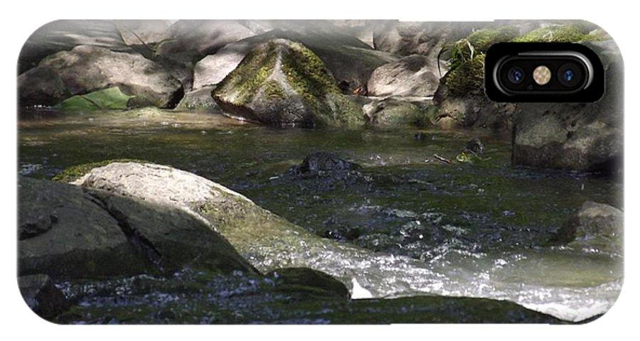 Landscape IPhone X Case featuring the photograph Creek by Robert Gross