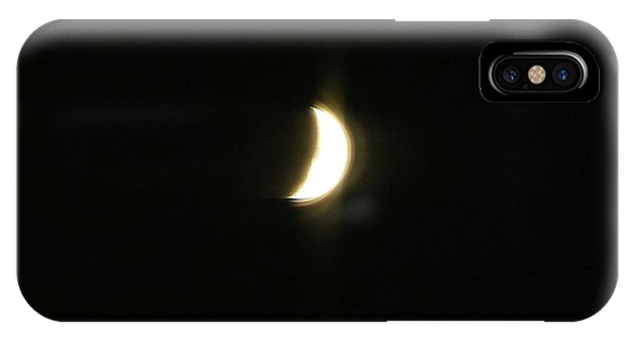 Crescent IPhone X Case featuring the photograph Crescere by Sonali Gangane