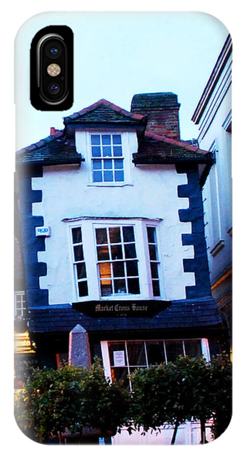 Windsor IPhone X Case featuring the photograph Crooked House Of Windsor by Pravine Chester