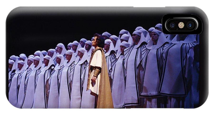 Verdi IPhone X Case featuring the photograph Spectacular Aida by Shaun Higson