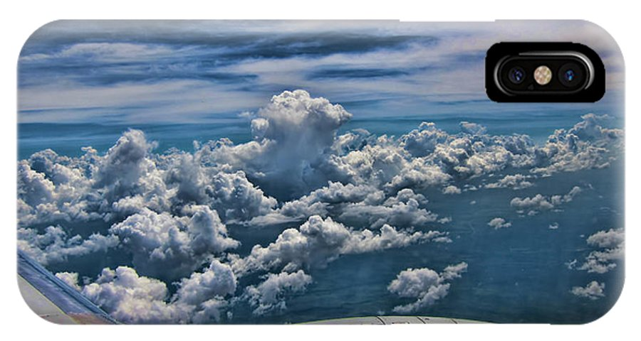Cumulus IPhone X Case featuring the photograph Cumulus by Douglas Barnard