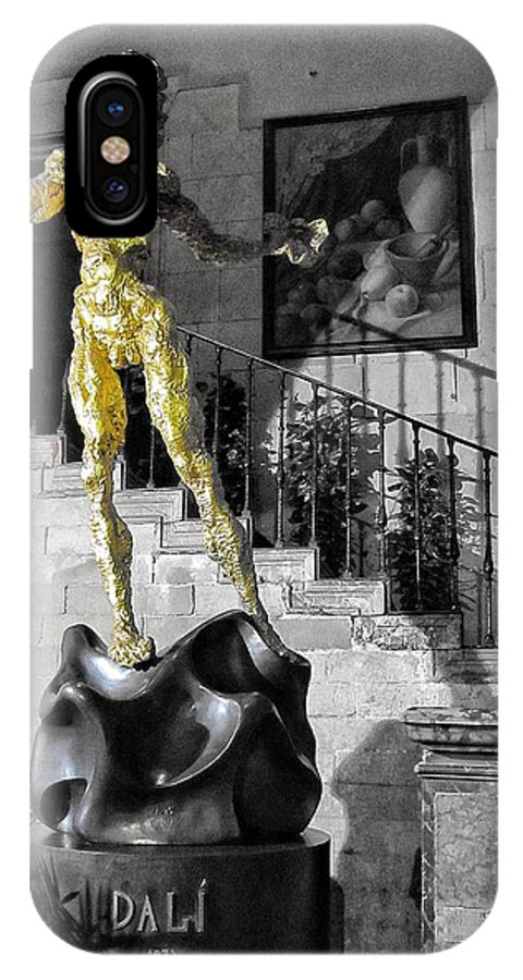 Salvador Dali IPhone X Case featuring the photograph Dali by Marianna Mills