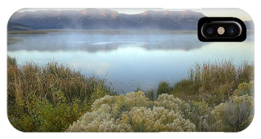 Centennial Mountains IPhone X / XS Case featuring the photograph Dawn On The Centennials by Idaho Scenic Images Linda Lantzy