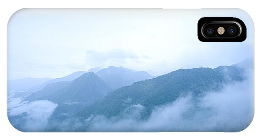 Dawn IPhone X Case featuring the photograph Daybreak by Shaun Higson