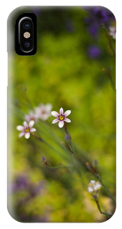 Flower IPhone X Case featuring the photograph Delicate Flowers by Mike Reid