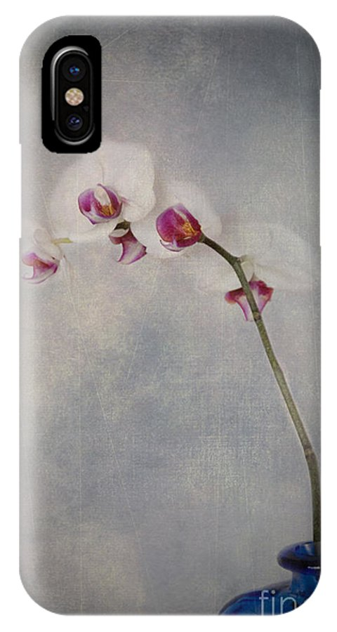 Orchid IPhone X Case featuring the photograph Delightful I by Alana Ranney