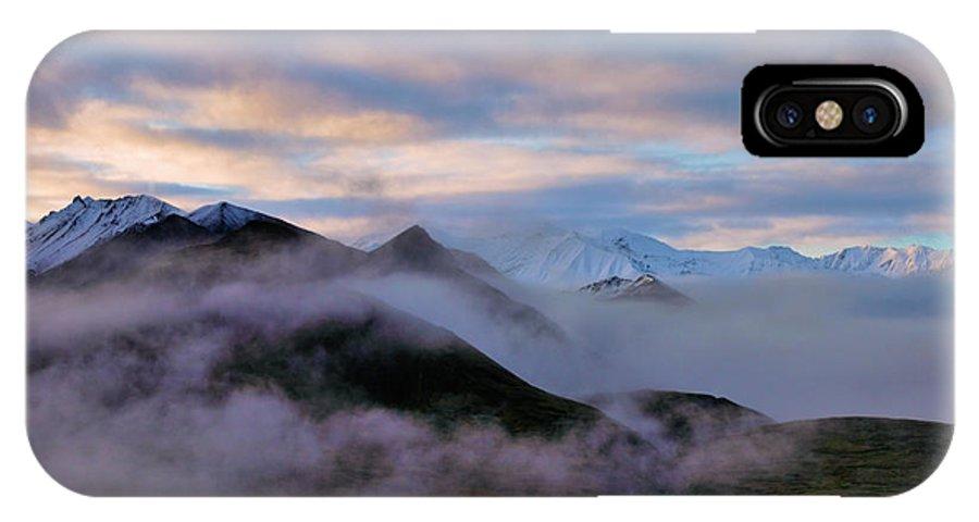 Denali National Park IPhone X Case featuring the photograph Denali Dawn by Rick Berk