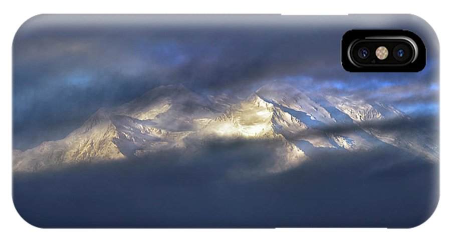Denali National Park IPhone X Case featuring the photograph Denali by Rick Berk