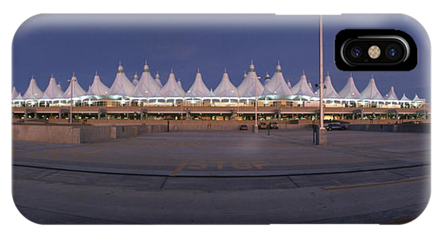 North America IPhone X / XS Case featuring the photograph Denver International Airport, Colorado by Michael S. Lewis