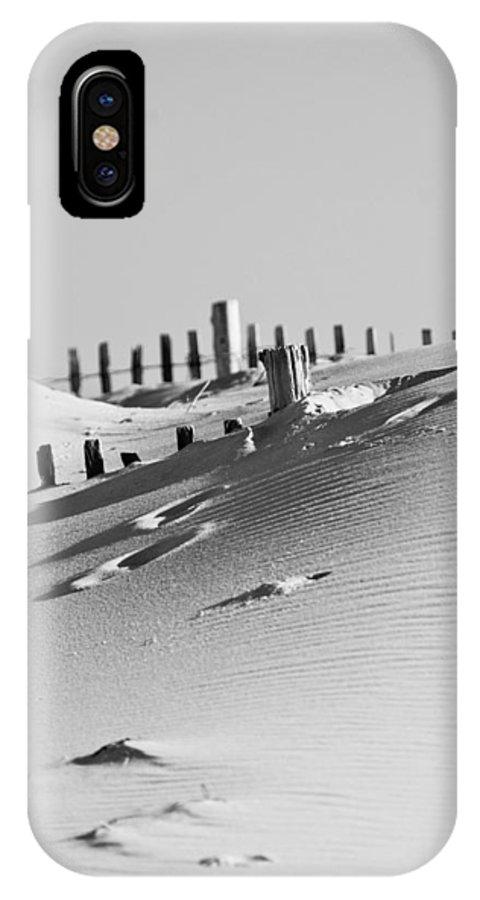 Sand IPhone X / XS Case featuring the photograph Desert Beach by Trish Tritz
