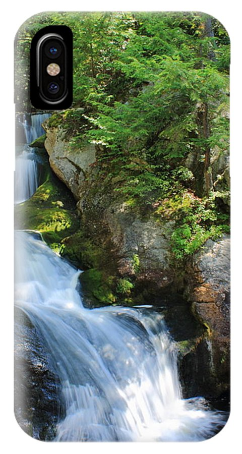 Doane's Falls IPhone X Case featuring the photograph Doane's Falls 2 by Jeff Heimlich