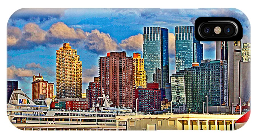 New York City View Dock 88 Scenic IPhone X Case featuring the photograph Dock Eighty Eight by Alice Gipson