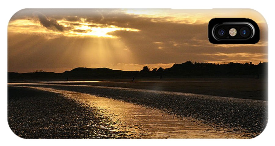 Donabate Beach IPhone X Case featuring the photograph Donabate Beach by Martina Fagan