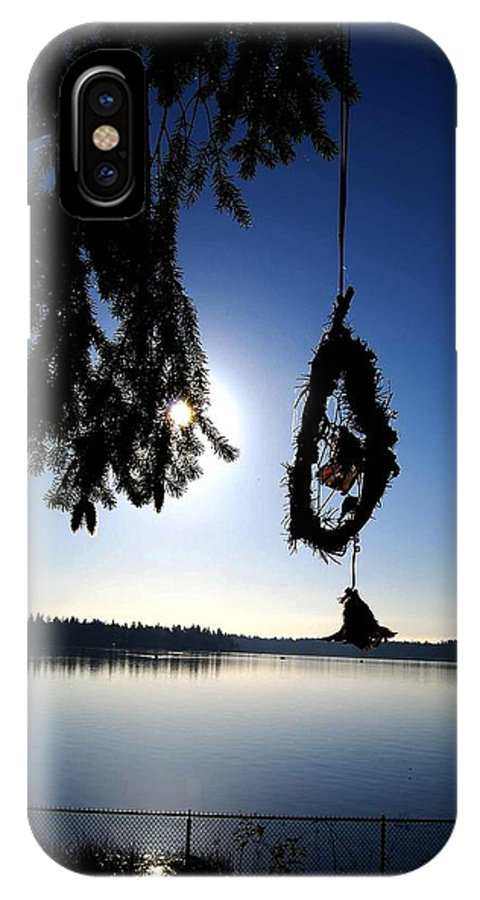 Sunrise IPhone X Case featuring the photograph Dream Catcher by Anthony Kougl