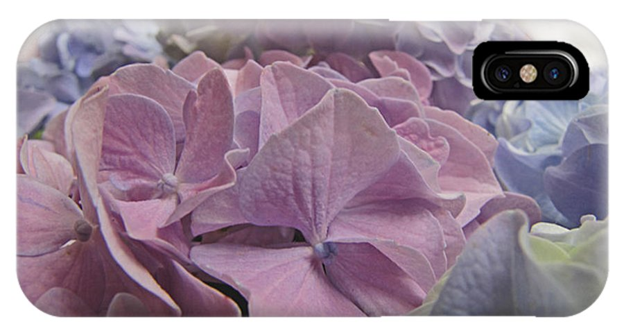 Nature IPhone X Case featuring the photograph Dream Hydrangeas by Debbie Portwood